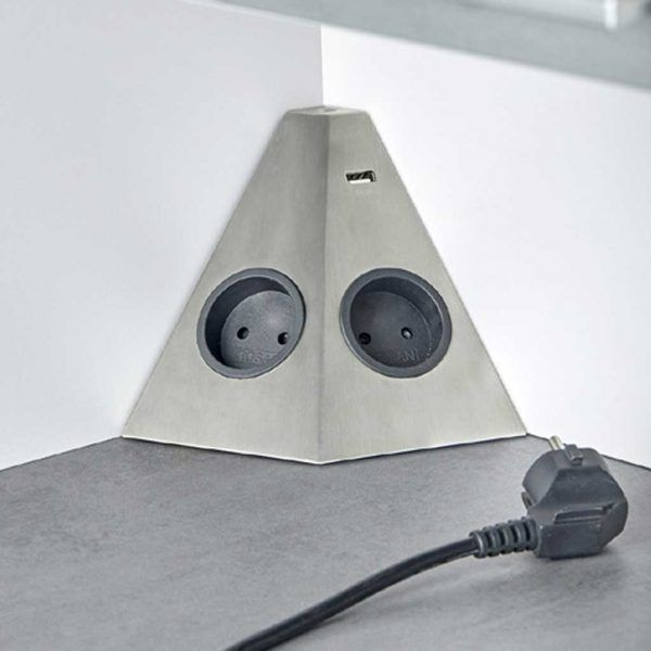 box-angle fabricado en acero inox