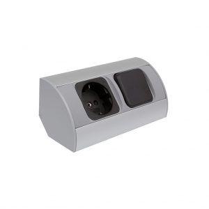 Enchufe Corner Box 1g