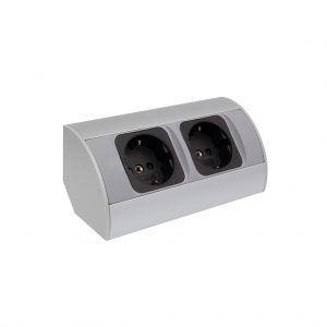 Enchufe Corner Box 2G